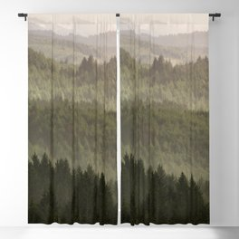 Pacific Coast Mountain Forest - 124/365 Blackout Curtain