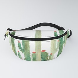 Old School Cactus 4 Fanny Pack