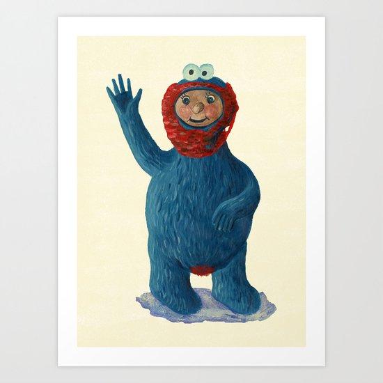 cookie man Art Print