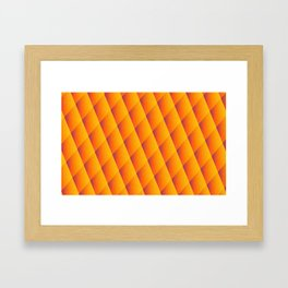 The Scale Framed Art Print