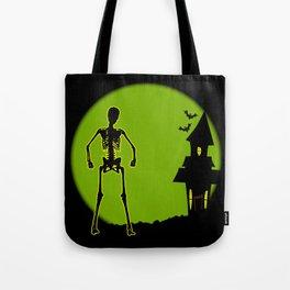 Halloween House Tote Bag