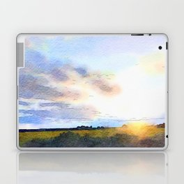Dawn on the Road Laptop & iPad Skin