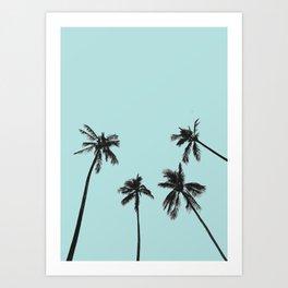Palm trees 5 Art Print