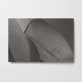 Sydney Opera House Black & White Photo, Sydney Australia Black White Wall Decor Metal Print