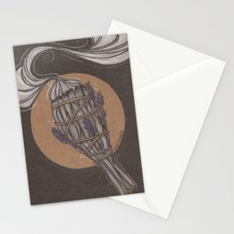Smudge Stick Stationery Cards