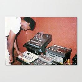Marshall Jefferson '88 - Last Dance Studio Canvas Print