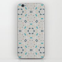 gold dots iPhone & iPod Skins featuring dots by Designed by Ruth