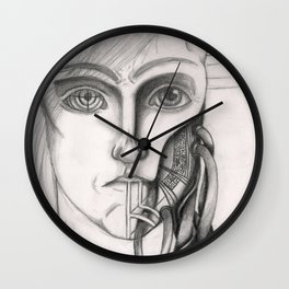 Humanica Mechanica  Wall Clock