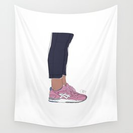 Sneakers Gel Lyte 5 Rose Gold Wall Tapestry