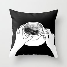 Morning please don't come Throw Pillow