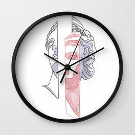 Greek Sandman Wall Clock