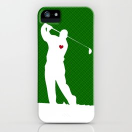 Golfer iPhone Case