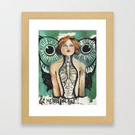 Iona Framed Art Print