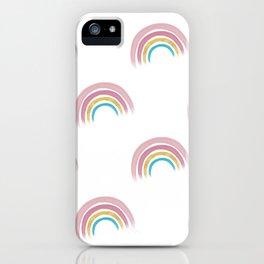 Rainbow Pattern iPhone Case