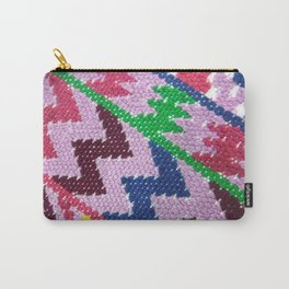 Guatemalan Fabric Carry-All Pouch