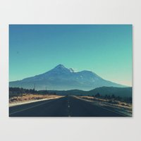 the mountains are calling Canvas Prints featuring The Mountains Are Calling by Ameliamiller