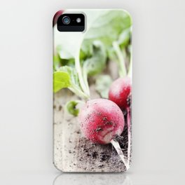 Radishes iPhone Case