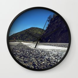 Just around the Bend. Wall Clock