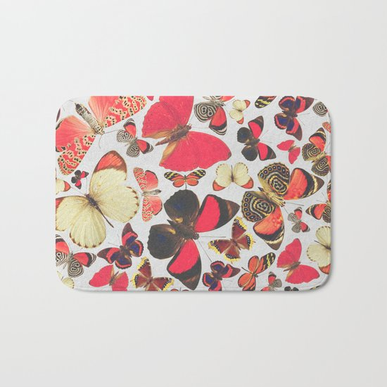 Come with me butterflies. Bath Mat