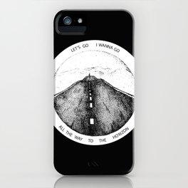 Biffy Clyro - Mountains lyrics iPhone Case