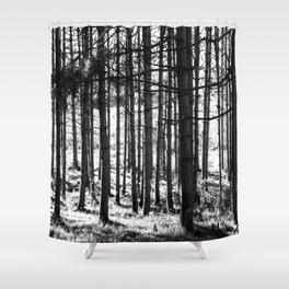 The Hollows Shower Curtain