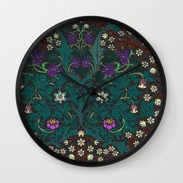 Blackthorn - William Morris Wall Clock