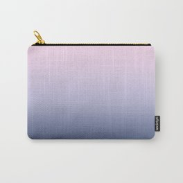 Ombre Millennial Pink Lilac Blue Gradient Pattern Carry-All Pouch