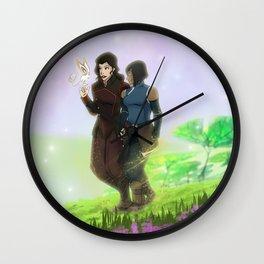 Korrasami Wall Clock