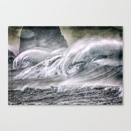 The Surf Canvas Print