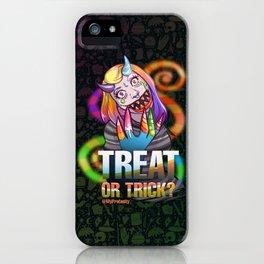 Candy Monster - Drawlloween2018 iPhone Case