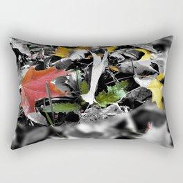 colors in contrast Rectangular Pillow