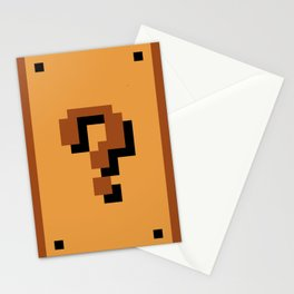 Question Block Stationery Cards