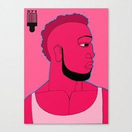1001 Black Men--#571 Canvas Print
