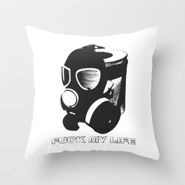 I DARE YOU TO COMPLAIN ABOUT YOUR JOB Throw Pillow