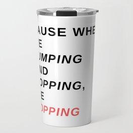 jumping & popping Travel Mug