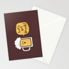 Drinking Buddy Stationery Cards