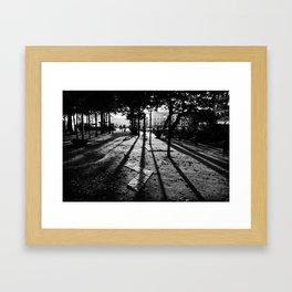 City Shadows Framed Art Print