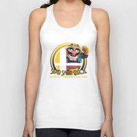 smash bros Tank Tops featuring Wario - Super Smash Bros. by Donkey Inferno
