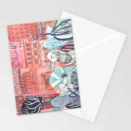 Marcel and Ernest Discuss Stationery Cards