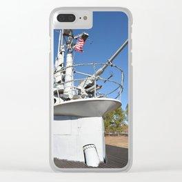 The USS Batfish SS-310 - On Deck at the Conning Tower Clear iPhone Case