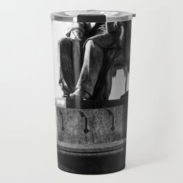 old man statue Travel Mug