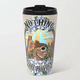 Nothing Before Providence  Travel Mug