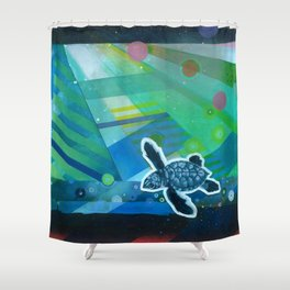 the first day Shower Curtain