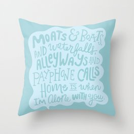 Home Is With You Throw Pillow