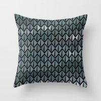 scales Throw Pillows featuring Scales by Xaphedo