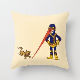 Evil Cyclops Throw Pillow