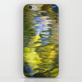 Harvest Gold Mosaic Abstract Art iPhone Skin