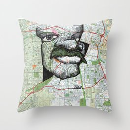 Sacramento, California Throw Pillow