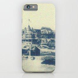 Mathewson Hotel, Coastguard House & Narragansett Towers iPhone Case