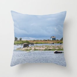 Nordic Idyll Throw Pillow